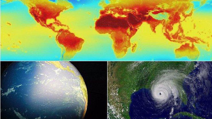 Apokalyptická mapa klimatických změn: Takhle bude vypadat Země v roce 2100!