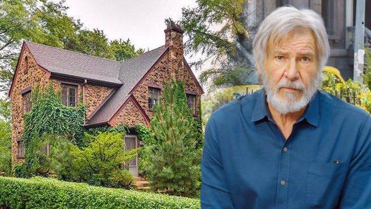 Dům, ve kterém žil Harrison Ford v dětství, se prodává za cenu bytu 3+1 v Praze