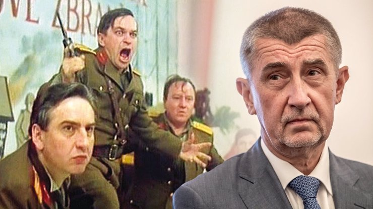 Hrdý fanoušek Andreje Babiše: Major Borovička z Tankového praporu ho miluje a věří, že nás spasí