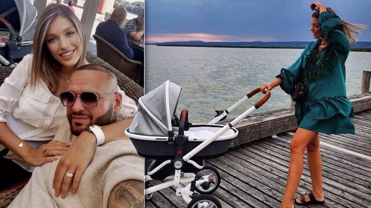 Jasmina s Rytmusem svého syna rozmazlují: Luxusní kočárek za astronomickou sumu