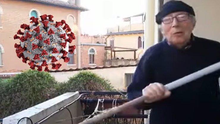 Získal si respekt lidí, které zároveň baví. Italský gondoliér ukázal, jak přežít nudu v karanténě