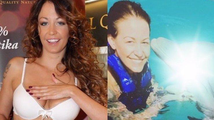 Agáta zase rozbouřila vášně svých fanoušků! Další fotka s delfínem je na světě!