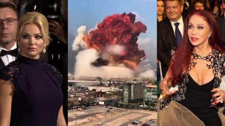 Monika Babišová pláče nad Bejrútem: Blance Matragi poslala dojemný vzkaz