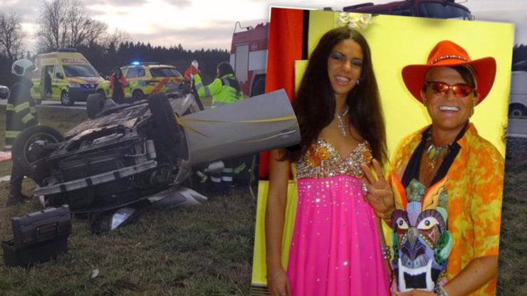 Strašlivá nehoda: Dcera Dana Nekonečného bourala, necítí ruce ani nohy a chce umřít