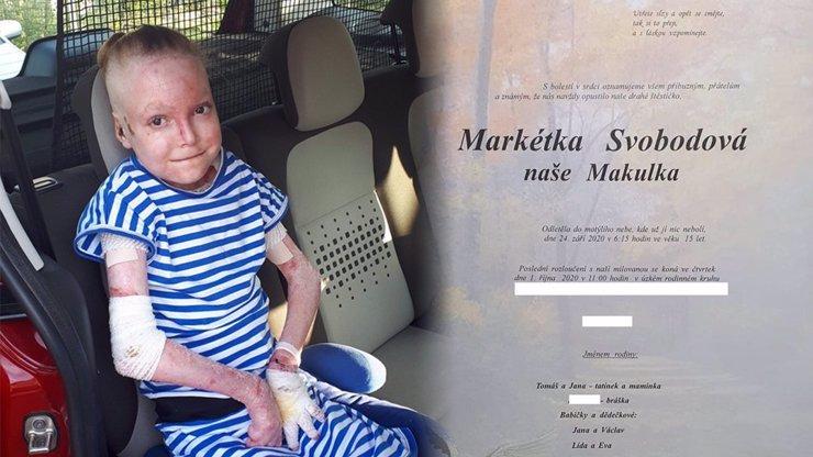 Markétka bojovala 15 let s nemocí motýlích křídel: Zlá choroba ji bohužel přemohla