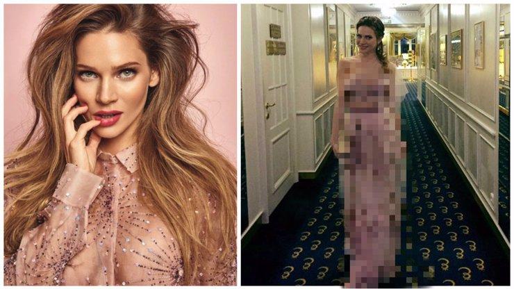 Sexy Andrea Verešová pořádala LUXUSNÍ party a na sebe si přitom vzala NEJODPORNĚJŠÍ šaty své kariéry!