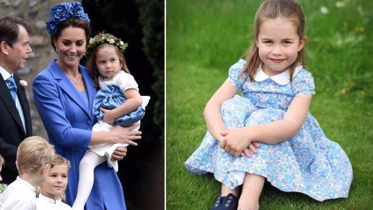 Tajemství šatiček princezny Charlotte odhaleno: Dostane vás, proč nosí pořád ty stejné