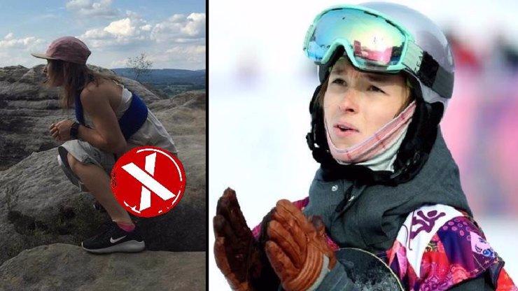 Močím na to! Snowboardistka Šárka Pančochová dala na Instagram hodně mokrou fotku! Co tím sleduje?