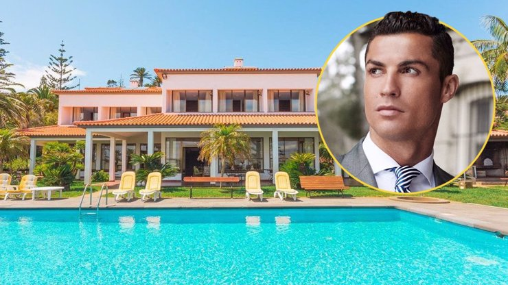 Hvězdný Cristiano Ronaldo se topí v luxusu: Interiér jeho rezidencí je pohádkový