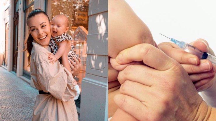 Monika Bagárová nechala dceru očkovat: Rozčeřila tím diskuzi mezi matkami