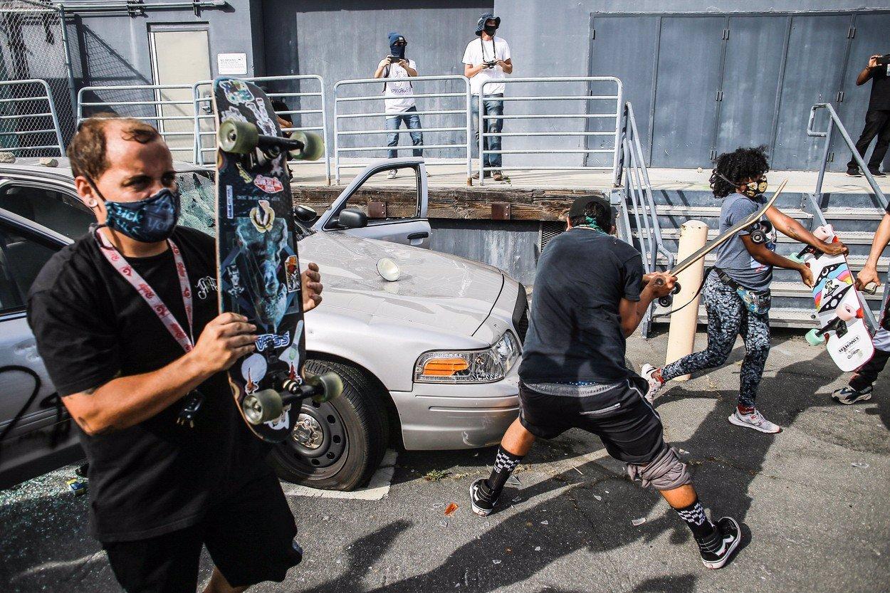 Americký prezident Trump otočil: Nasazení vojska proti protestujícím nebude třeba