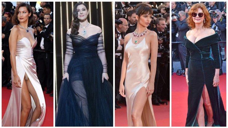 Nejkrásnější róby filmového festivalu v Cannes! Pohled nejen na dekolty, ale i na kalhoty!