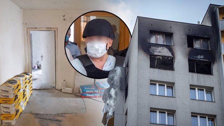 Dveře mezi peklem a nadějí: Vrah z Bohumína rodinu zamkl v ohnivé pasti