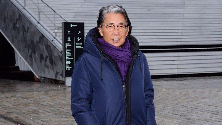 Módní návrhář Kenzo Takada je po smrti: V 81 letech zemřel na následky koronaviru
