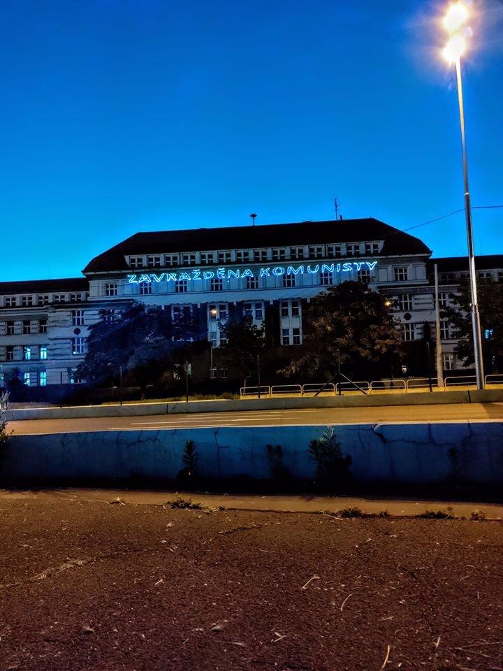 Miladu Horákovou zavraždili komunisté: Vzpomínku na popravenou ženu jim promítli na sídlo