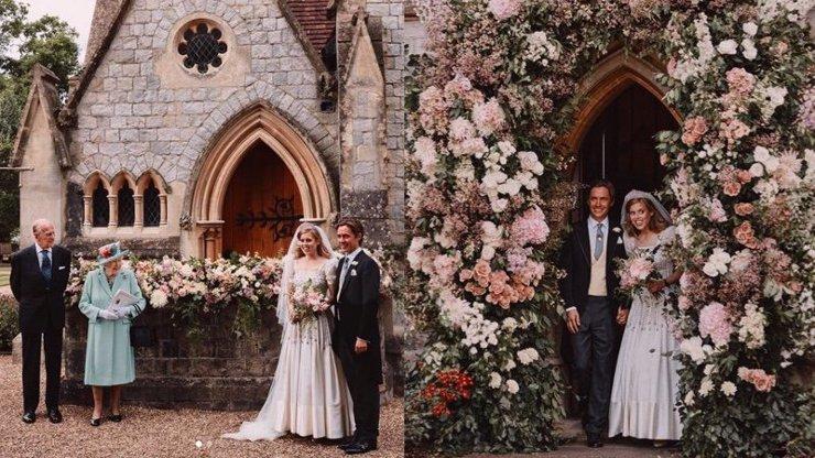 Princezna Beatrice se konečně dočkala svatby: Utajeného obřadu se nezúčastnil otec