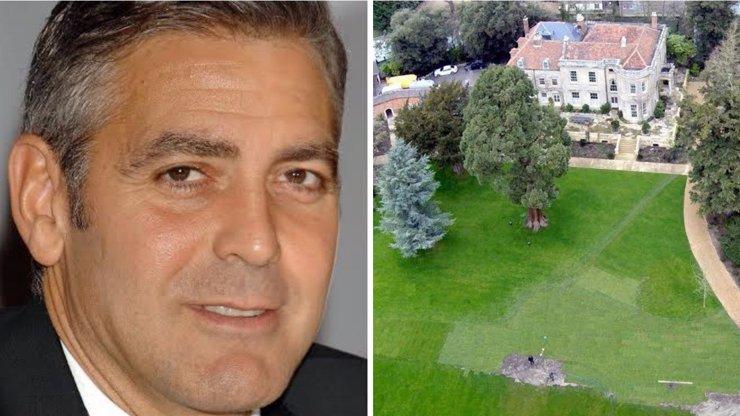V tomto honosném sídle žije George Clooney s manželkou Amal. Neuvěříte, kolik  hollywoodského krasavce stálo