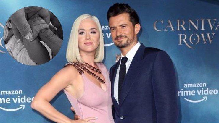 Katy Perry a Orlando Bloom se stali rodiči: Dceři dali jméno podle květiny a ptáka
