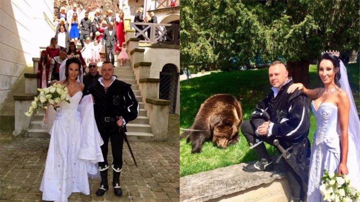 MÓDNÍ ORTEL: Nevěsta za maškaru, ženich v laciném kostýmu! Že by svatba narychlo?