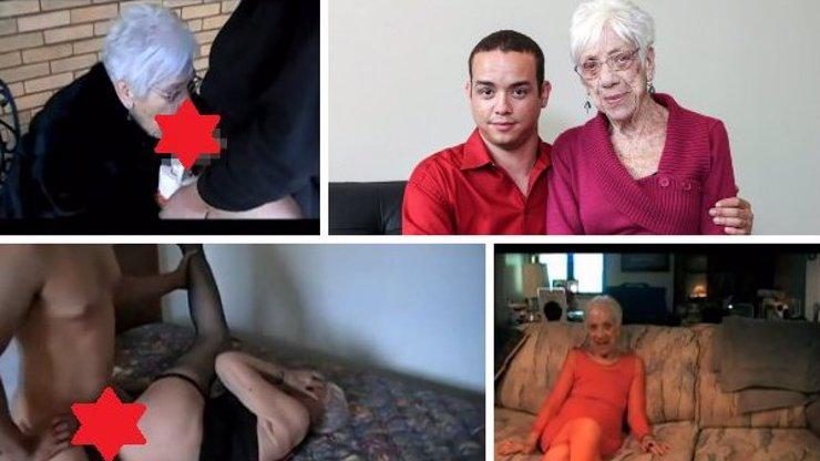 Tajemství věkově rozdílného páru: Našli jsme domácí porno mladíka (31) a jeho o 60 let starší holky!