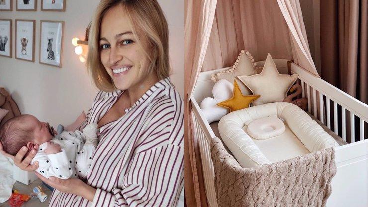 Renata Langmannová je doma z porodnice: Miss přichystala pro dceru krásný pokoj