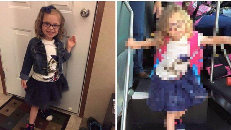 HIT INTERNETU: Maminka vyfotila dceru před a po nástupu do 1. třídy. Její výraz obletěl svět!