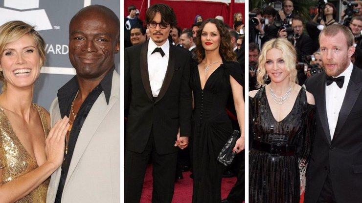 9 slavných párů, jejichž rozvod byl pro všechny velkým šokem - 2. díl
