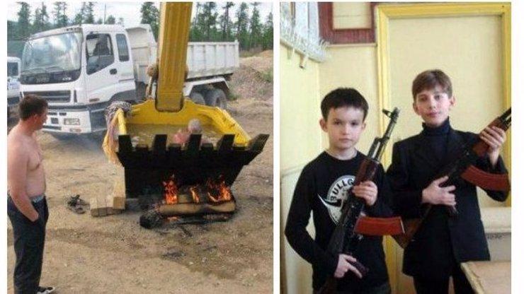 Vítejte v Rusku: 10 krutopřísných fotek alkoholového národa, které naprosto popírají zákony reality