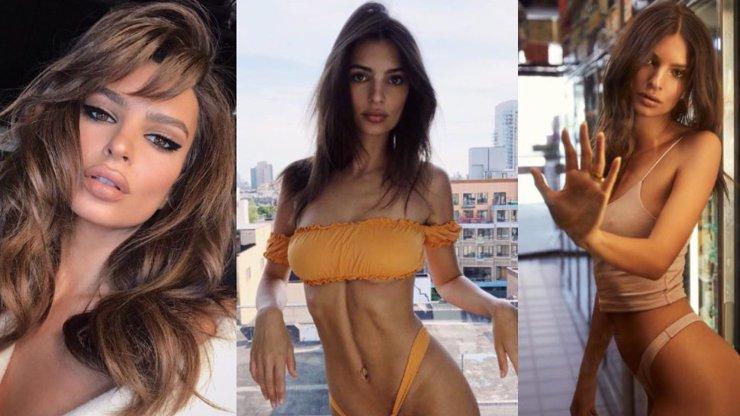 Snědá bohyně Emily Ratajkowski slaví 28 let: Nejvíc SEXY FOTKY její kariéry