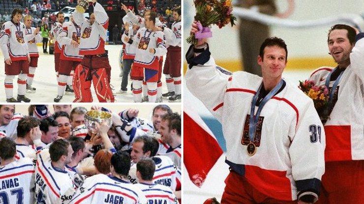Máme recept na naše vítězství v hokeji: Navlečte české repre bílé dresy a zlato je naše. Podívejte se na důkazní fotografie!