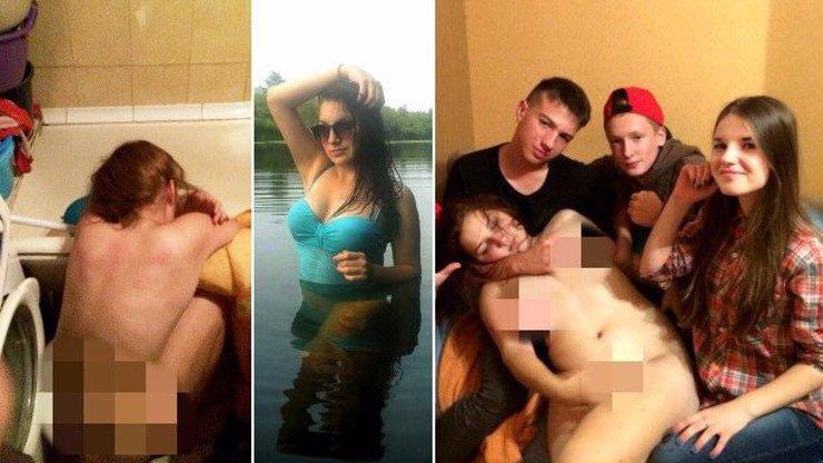 Další fotky z hororové party, kde kamarádi zneužili Veroniku (15). Tohle všechno dělali s jejím tělem!