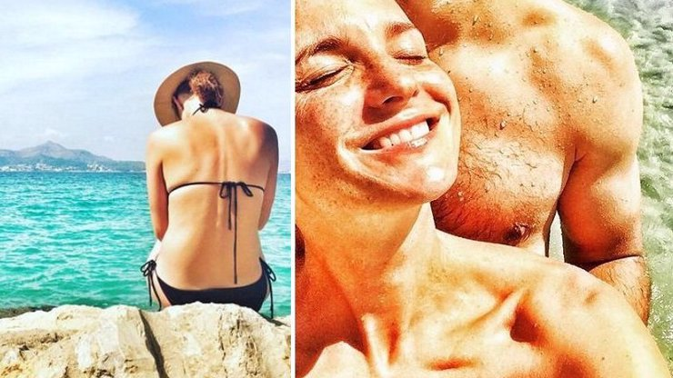 Moře, horko a rozpálené svaly! Míša Maurerová si na dovolené umí udělat dobře