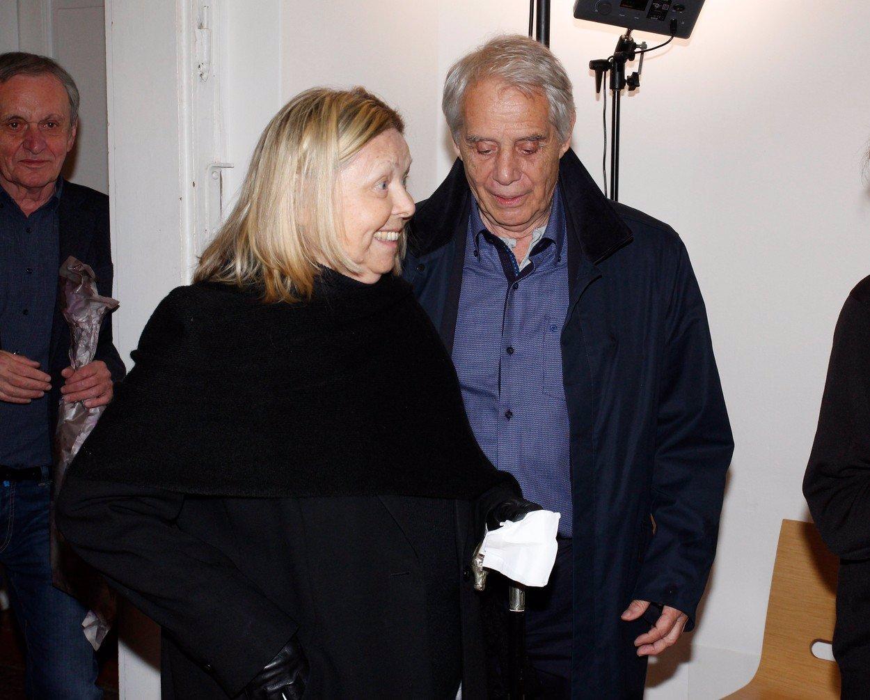 Irena Greifová a Josef Laufer.