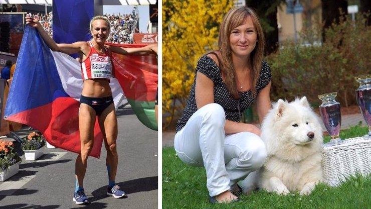 Eva Vrabcová Nývltová je atletka.