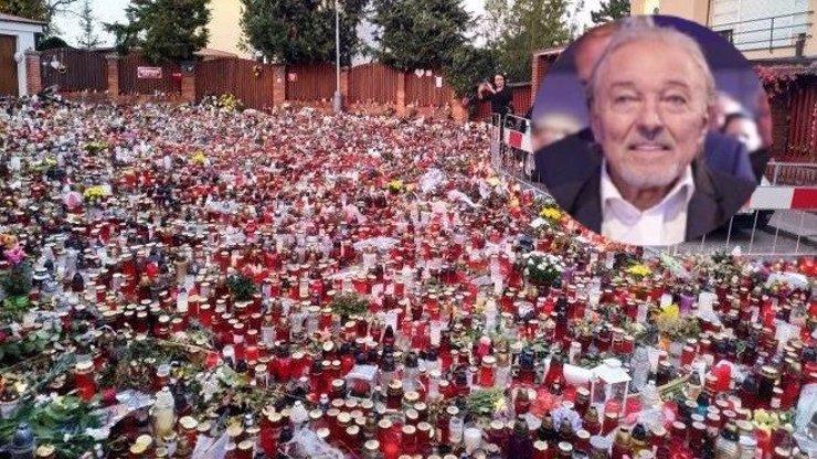 Svíčky a květiny na Bertramce zůstanou: Rodina Karla Gotta si přeje pietu zachovat