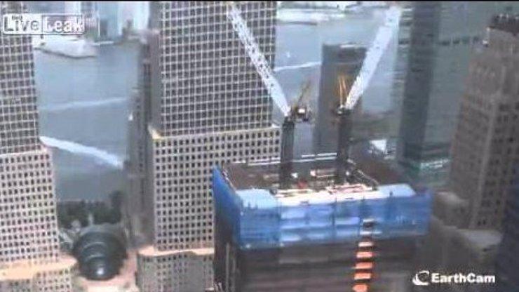 Podívejte se na fascinující video ukazující, jak se stavělo nové Světové obchodní centrum