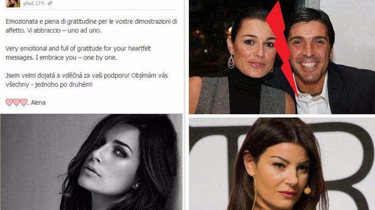 Podvedené Šeredové fandí Itálie i Česko: Facebook modelky zaplavují vzkazy fanoušků. Co píší o nevěře Gigiho?