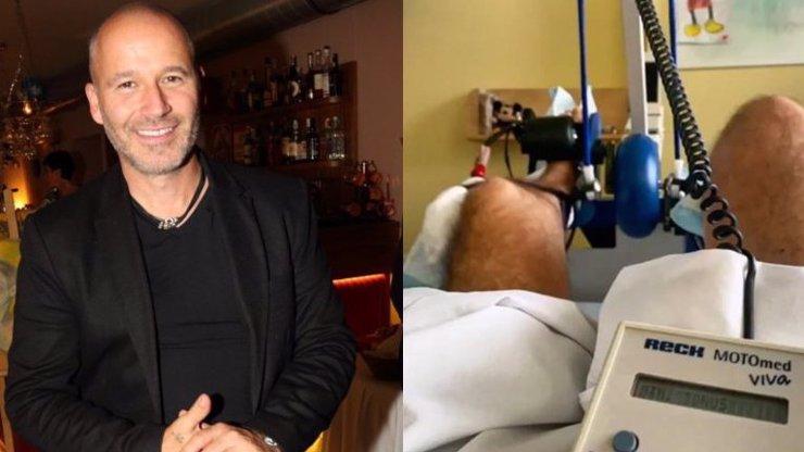Moderátor Jan Musil (51) má za sebou další zákrok: Jen pár hodin po operaci si dává do těla!