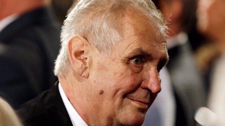 Miloš Zeman udělil další milost: Muži, který zabil svou ženu a dítě