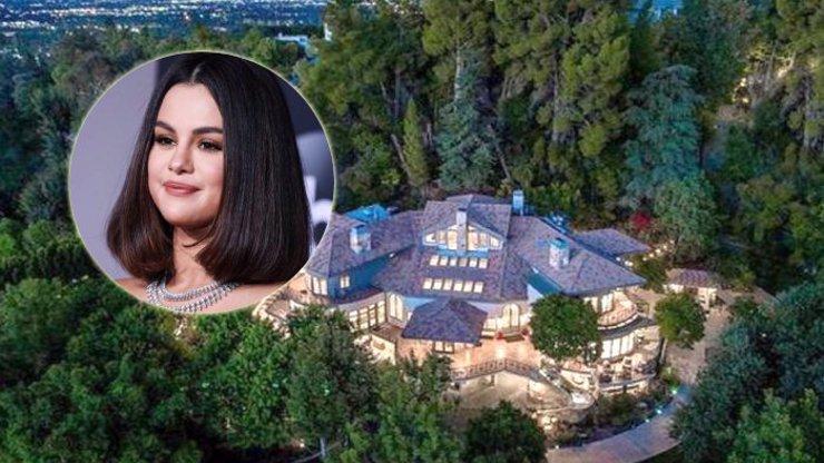 Přepych, ze kterého přechází zrak: Selena Gomez koupila luxusní dům s tajnými chodbami