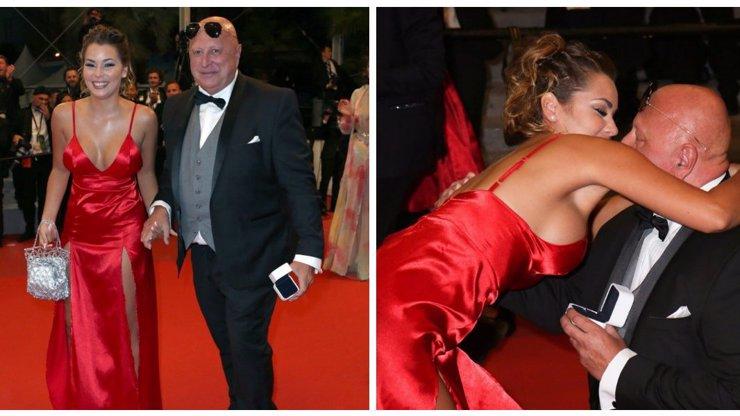 Překvapení v Cannes: Český milionář poklekl před bývalou striptérkou a po 2 měsících ji požádal o ruku