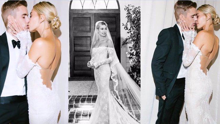 Svatba Bieberových: Hailey Baldwin konečně odtajnila šaty a jsou skvostné