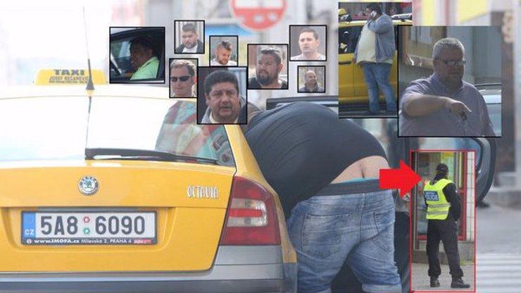 Skrytá kamera a strážník městské policie v neuvěřitelné zpovědi během řádění černých taxikářů! Video, které vám pokazí neděli!