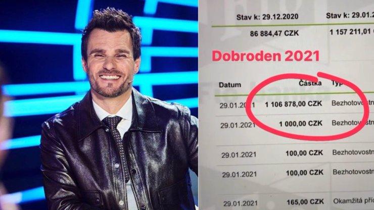 Leoš Mareš dodržel slib: V rámci akce Dobroden daroval přes milion korun na Vlčí mák
