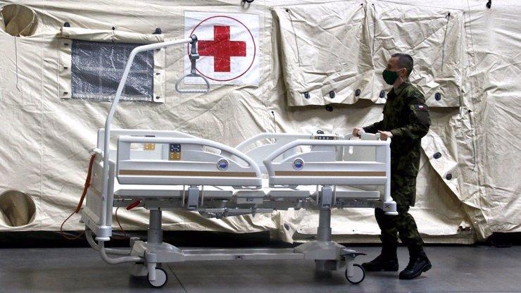 Takhle roste český M.A.S.H.: Polní nemocnice v Letňanech je už téměř hotová