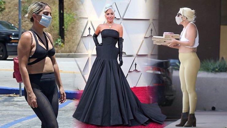 V karanténě jí zřejmě chutnalo: Lady Gaga předvedla oplácanou figuru v nevkusných legínách