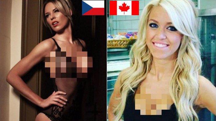 Češi porazili Kanadu! Minimálně v tom, jak krásné mají přítelkyně. Ty NEJVĚTŠÍ SEXBOMBY najdete v naší fotogalerii!