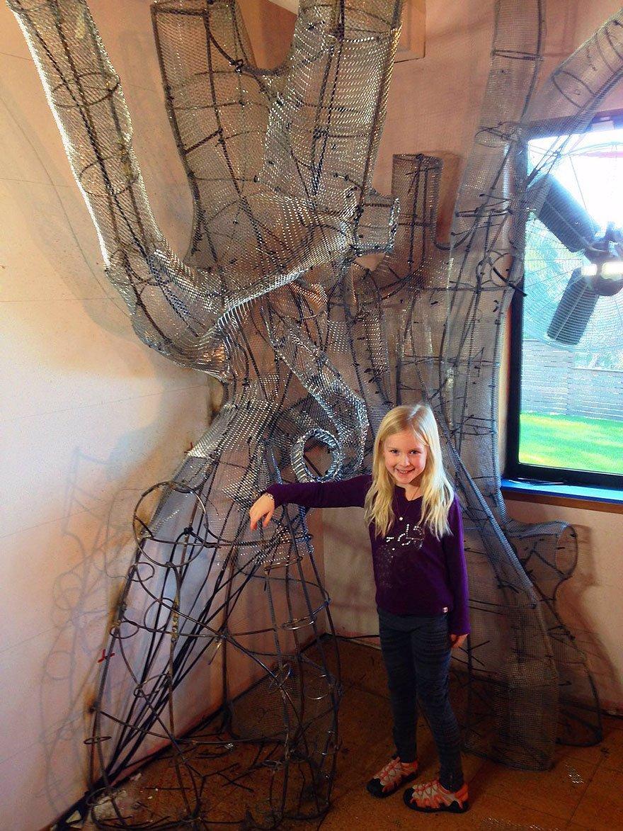 Pohádkový pokojíček: Milující otec udělal dceři z pokoje něco neuvěřitelného