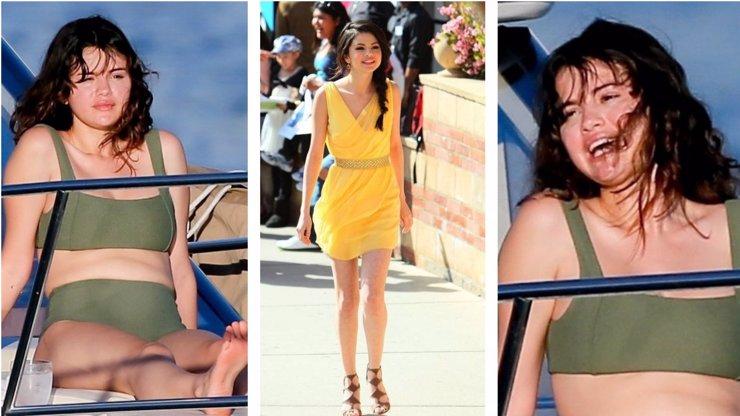 Selena Gomez si hlavu ze svých špíčků nedělá: Kila navíc ji dělají šťastnou