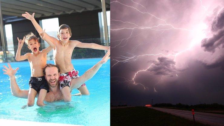 Na Česko se řítí hrozné bouřky, meteorologové rozšířili výstrahu: Týdenní předpověď